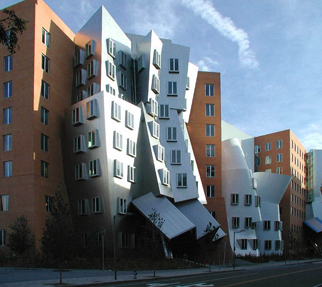The Stata Center at MIT. CC BY-SA 3.0, https://commons.wikimedia.org/w/index.php?curid=327492