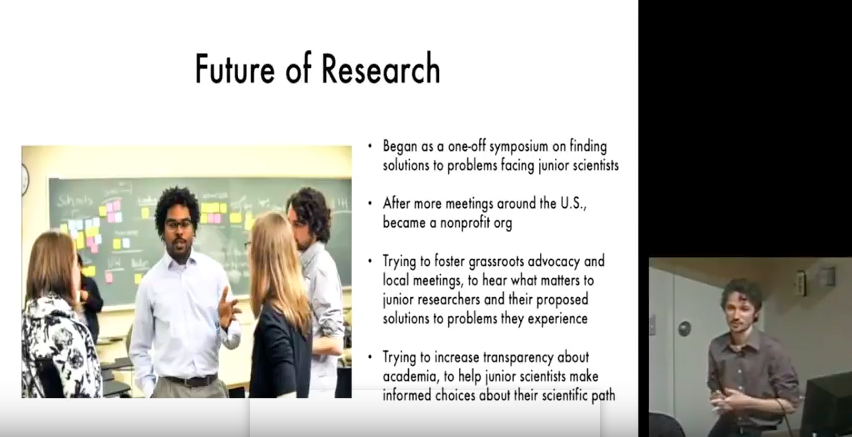 So…You Want To Do A Postdoc? Talk by Executive Director at University of Michigan